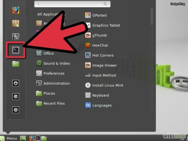 Изображение с названием Upgrade Adobe Flash Player on Linux Mint Step 1